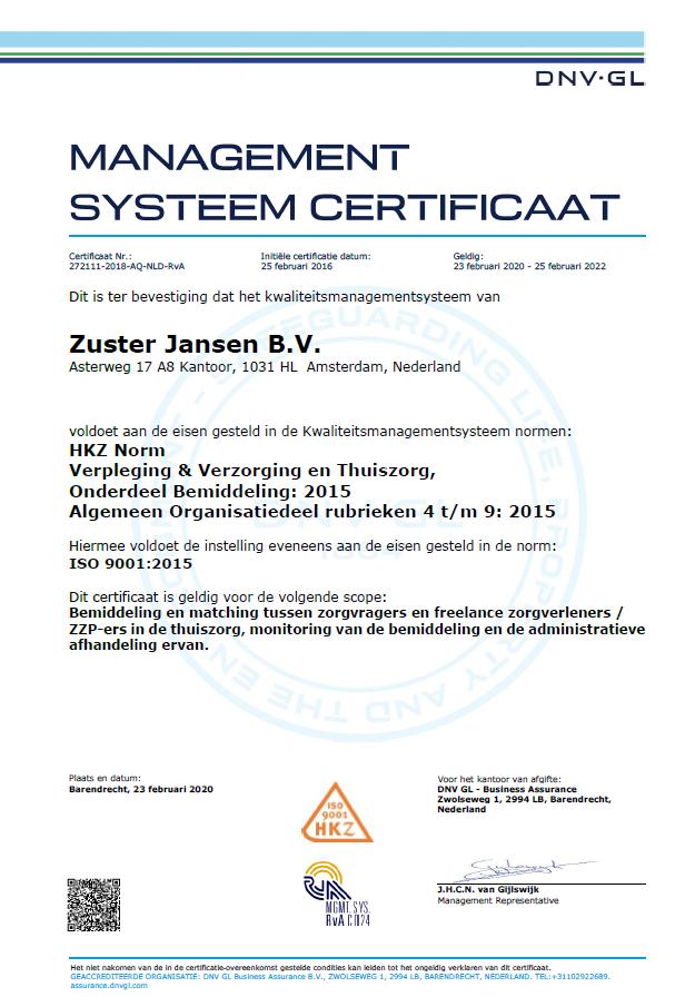 HKZ-certificaat