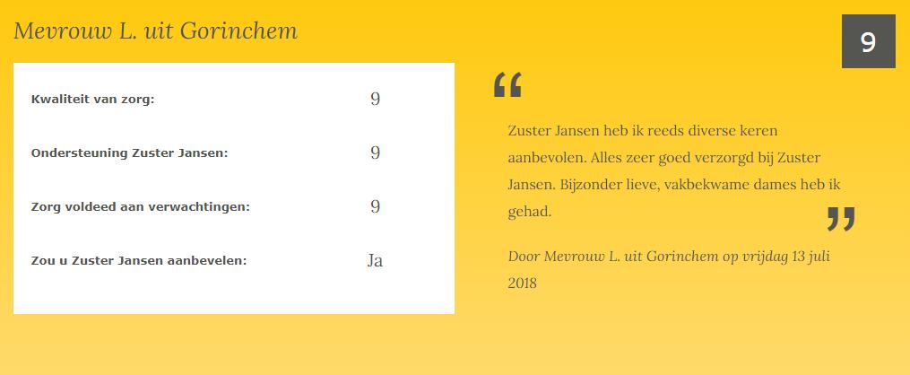 24-uurs zorg review Gorinchem